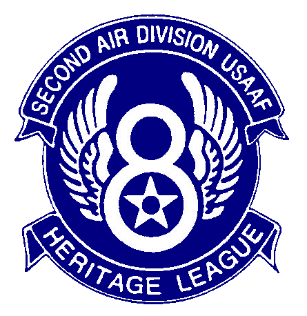 American Heritage League Second Air Division logo